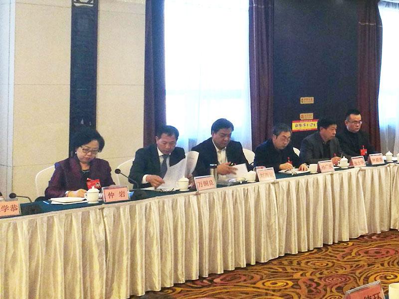 董事长刘西斌参加分组会议