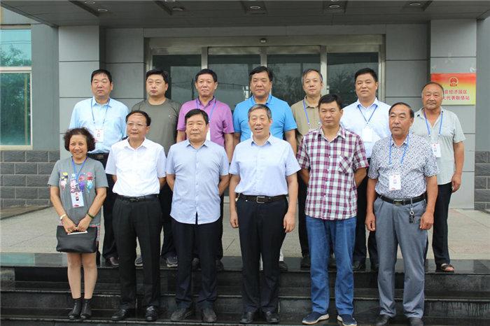 县人大和园区管委会主要领导与园区人大代表合影